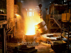 Cast iron molding by diameter do1500mm