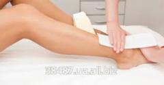 Laser epilation - the foot Back