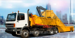 Export of large-size garbage