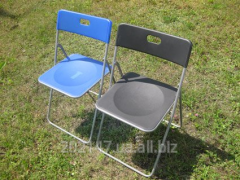 Plastic folding-chair