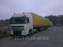 Автоперевозки в Восточную Европу, по Украине, в Белорусь
