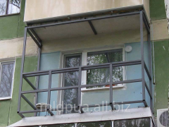 Metal Design of the Balcony Dnipropetrovsk