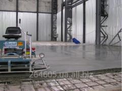 Изготовление декоративных и промышленных наливных полов