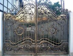Ковка ворот под заказ Николаев, Одесса и Киев с доставкой