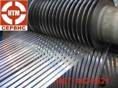 Услуги по роспуску металла на штрипс