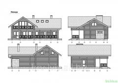 Дача, деревянные дома, разробка проектов на дачные дома, архитектурные проекты