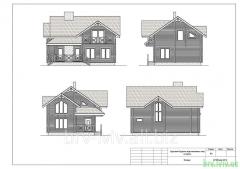 Коттеджи, особняки, чертежи и планировка строительства элитных домов из деревянного бруса
