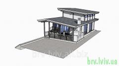 Загородные дома, дачи, деревянные дома строительство и проектирование, чертежи Львов