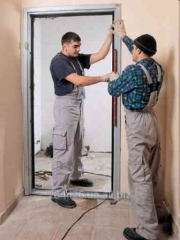 Installation of interroom doors
