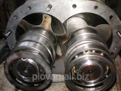 Repair of the compressor equipmen