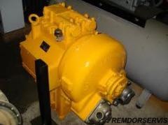 Repair of U35.615 of the transmission