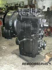 Repair of the transmission of K702.