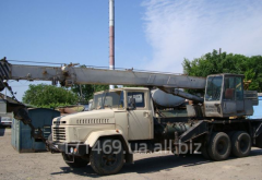 Rent KC 35-75 Truck crane