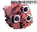 Repair of reducer of turn grader DZ 143