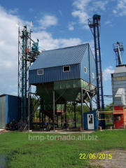 Installation of processing equipment of grain