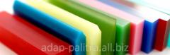 Production of rakelederzhatel and sharpening of