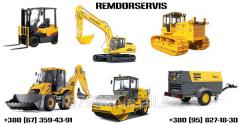 Repair of construction equipmen