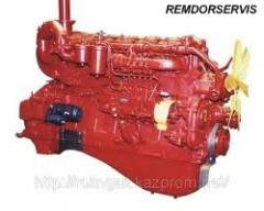 Capital repairs of the engine: YaMZ-236