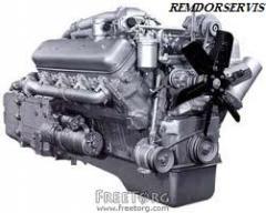 Capital repairs of the engine: YaMZ-238
