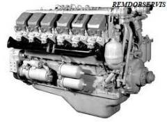 Capital repairs of the engine: YaMZ-240