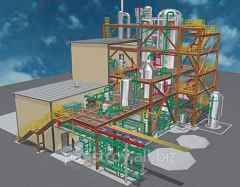 Project of industrial construction