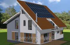 Construction of energy saving houses