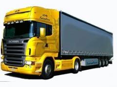 Предоставление транспортных услуг собственным транспортом по Украине и сранам снг