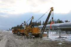Installation and construction works of oil and gas