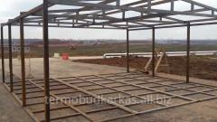 Производство строительных металлоконструкций любой сложности.