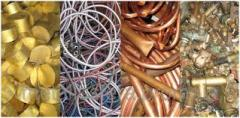 Alloys and metals, cutting and buying up of