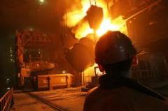 Services in melting of scrap metal, buying up,