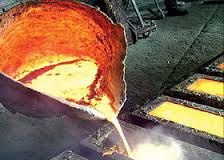 Processing and processing of alloys metal, melting