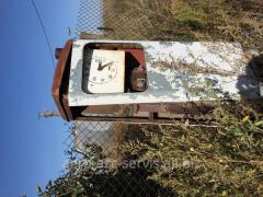 Major repair of a fuel-dispensing column
