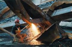 Самовывоз металла, резка и демонтаж конструкций из металла