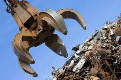 Buying up, dismantling and cutting of metal