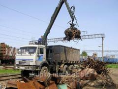 Рубка, резка металла, переработка металлического лома в Укриане