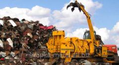 Scrap of non-ferrous metals, buying up of alloys