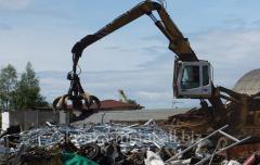 Dismantle and dismantling of metal designs, metal