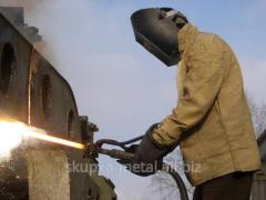 Демонтаж, разборка металлических конструкций, разборка полуприцепов и прицепов металлических  в Украине