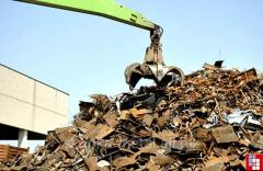 Dismantle of designs from metal in Ukraine