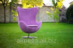 Изготовление дизайнерских кресел Arne Jacobsen Egg Chair под заказ
