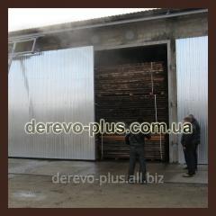 Wood steaming