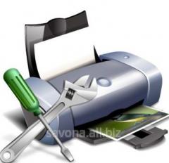 Ремонт и обслуживание  принтеров Hp