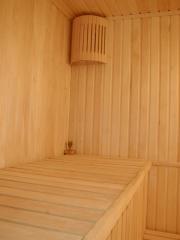 Construction of saunas, turnkey baths.