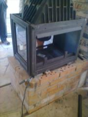 Construction of fireplaces