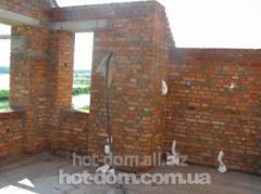 Services in warming of facades, balconies, walls