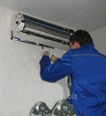 Монтаж систем кондиціювання повітря