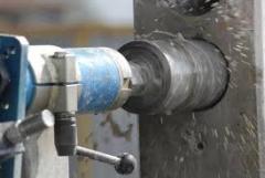 Сверление отверстий бетона, бурение, резка бетона,  алмазная резка бетона без пыли