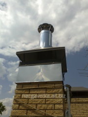 Gilzovaniye of a flue, air duct; ventilation from