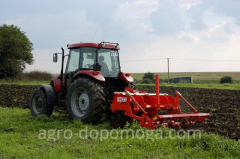 Processing of the soil deep-ripper